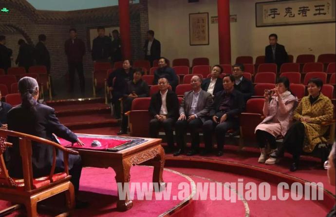 吴桥杂技大世界迎接中信集团与宁夏文联考察团考察、学习