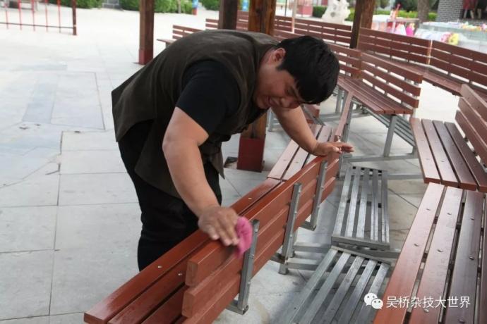 全员齐上阵吴桥杂技大世界景区内环境焕然一新