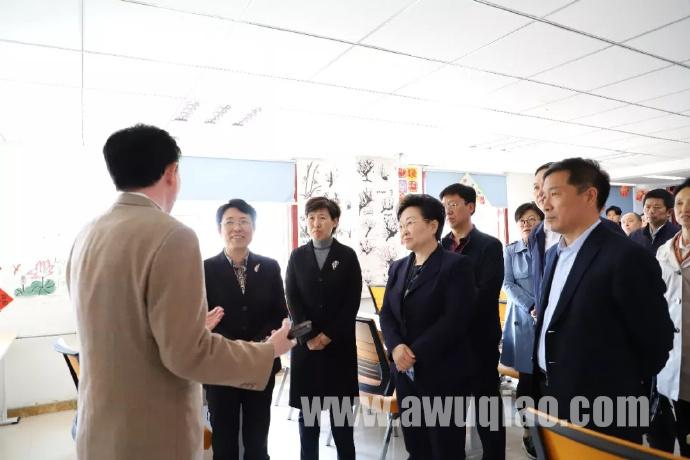 中国侨联党组成员、副主席隋军来吴桥调研指导工作