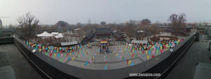江湖文化城内景