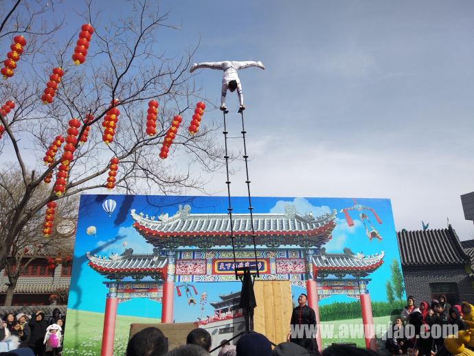 中华园大马戏团-高空杂技