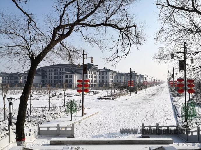小城初雪,美景如斯,美得不像话……