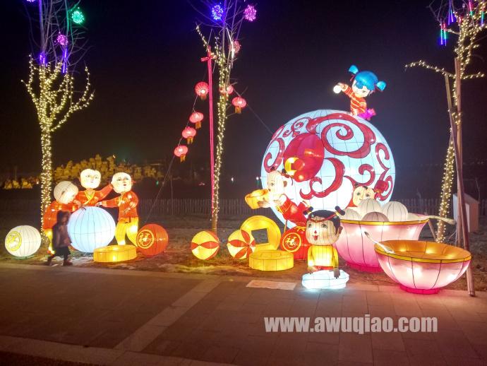2019吴桥杂技国际灯会正月十五掠影(四)