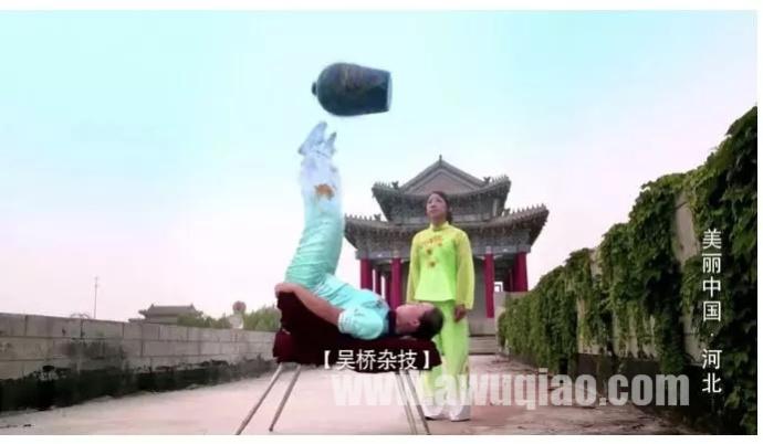 吴桥杂技再次亮相央视新闻联播,微视频《美丽中国•河北》