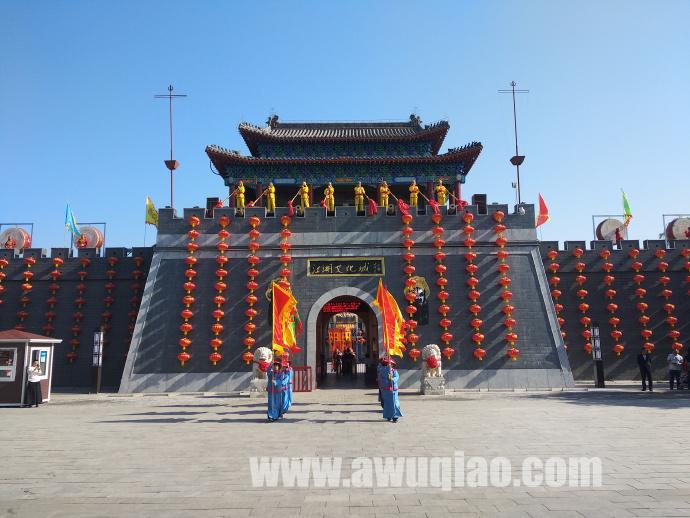 五一小长假江湖文化城开城门掠影